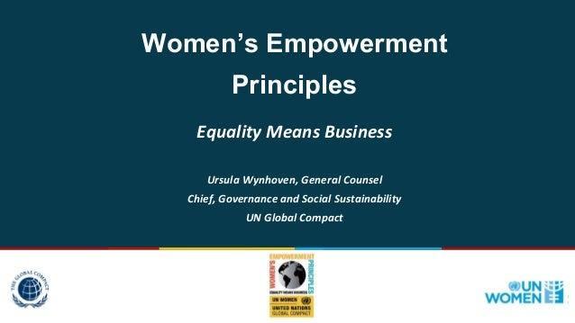 Lastest Presentation On Women Empowerment