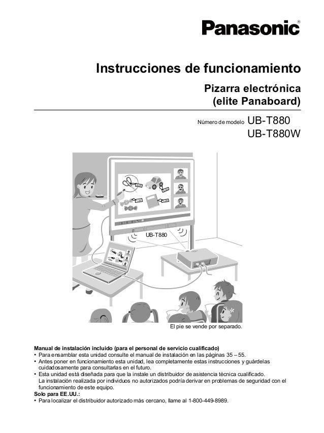 UB-T880-PJQXC0337YC_spa.book 1 ページ   2010年9月6日 月曜日 午前10時13分                                      Instrucciones de funciona...