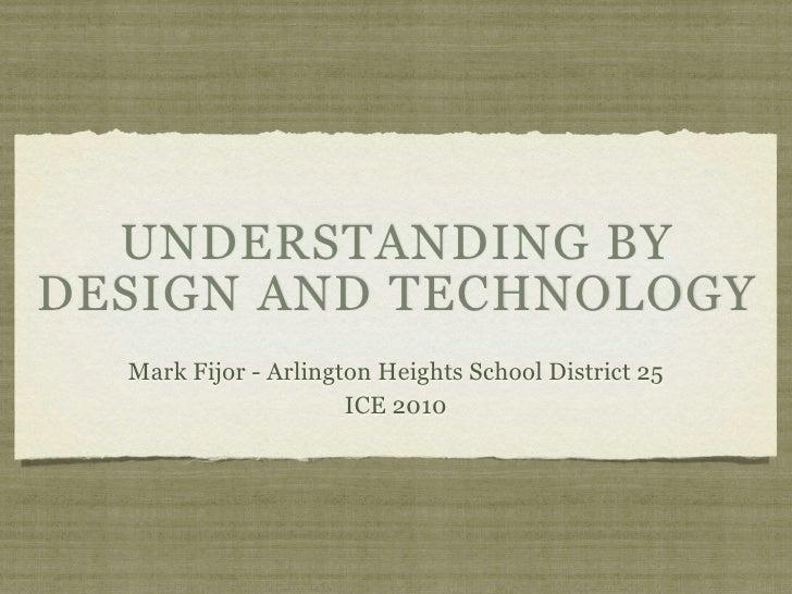 Understanding by Design and Tech Integration