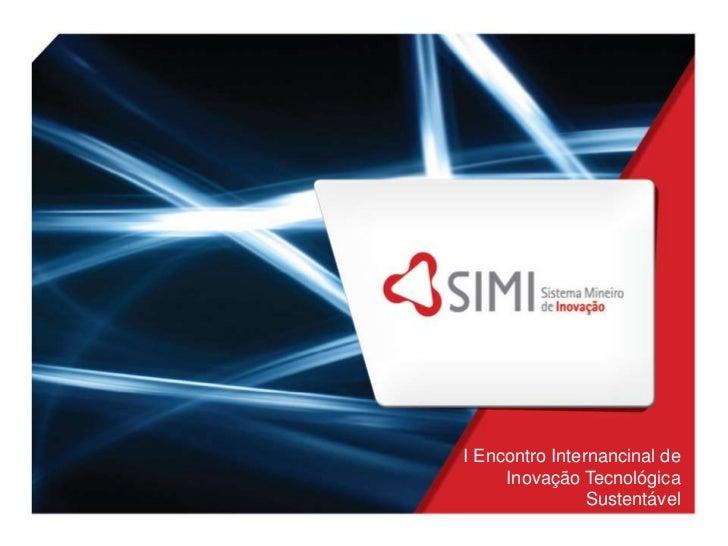 I Encontro Internancinal de Inovação Tecnológica Sustentável<br />