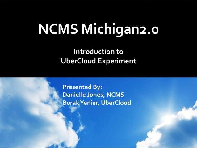 NCMS UberCloud Experiment Webinar .