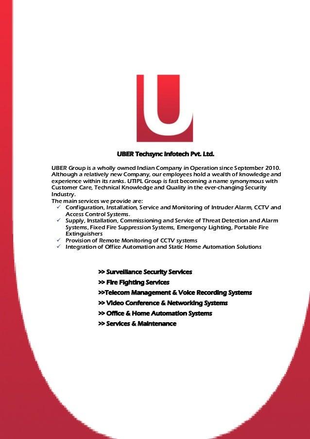 Uber techsync infotech  corporate brochure 2012