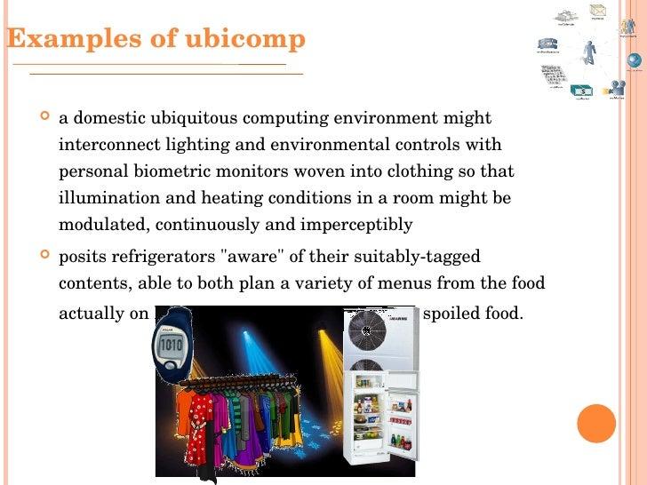 Ubiquitous Computing Devices Ubiquitous Computing