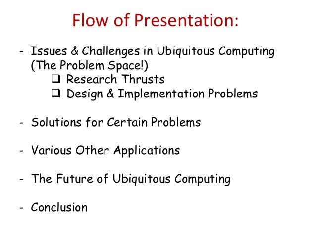 Ubiquitous Computing Applications Ubiquitous Computing The
