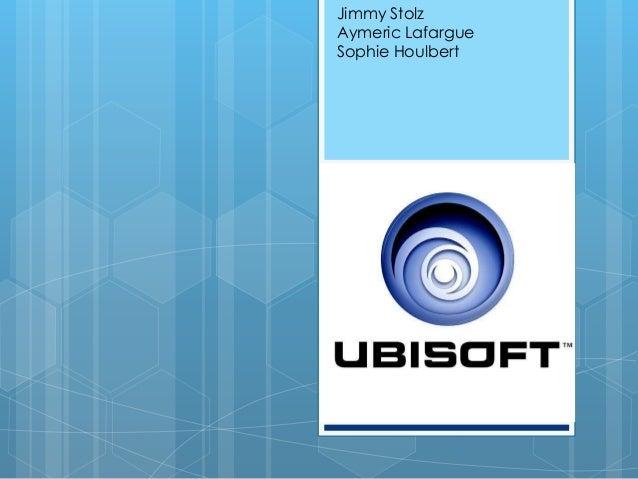 Jimmy StolzAymeric LafargueSophie HoulbertUbisoftManagement del'innovation