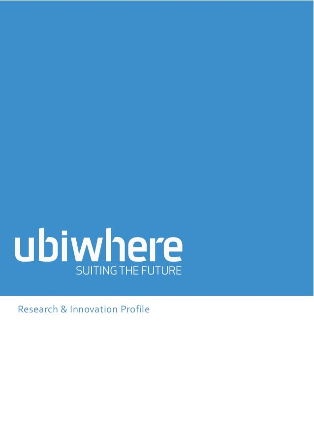 Research & Innovation Profile
