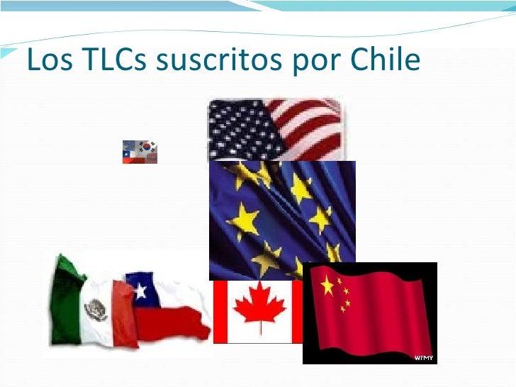 Los TLCs suscritos por Chile
