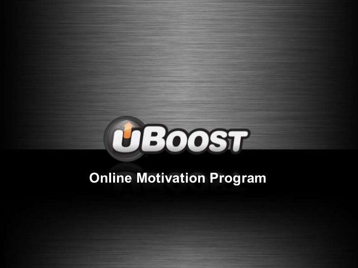 Online Motivation Program<br />