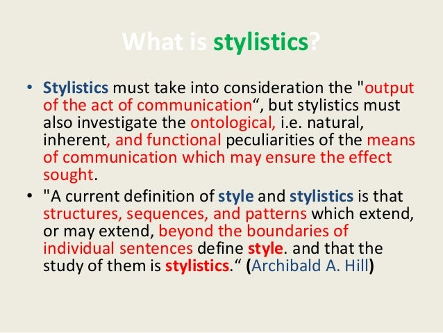 stylistic features of essays Kadeem harvey from colorado springs was looking for stylistic features of essays travis wilkinson found the answer to a search query stylistic.