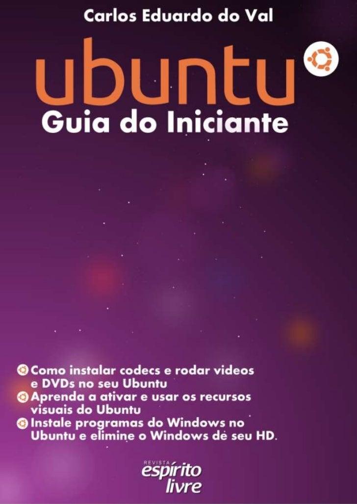 Ubuntu Guia do Iniciante