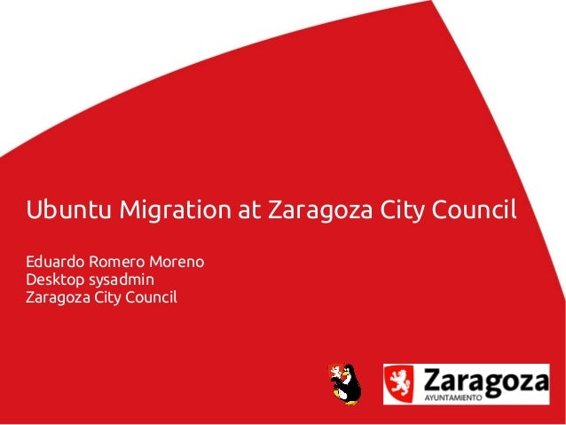 Ubuntu migration at Zaragoza City Council v3