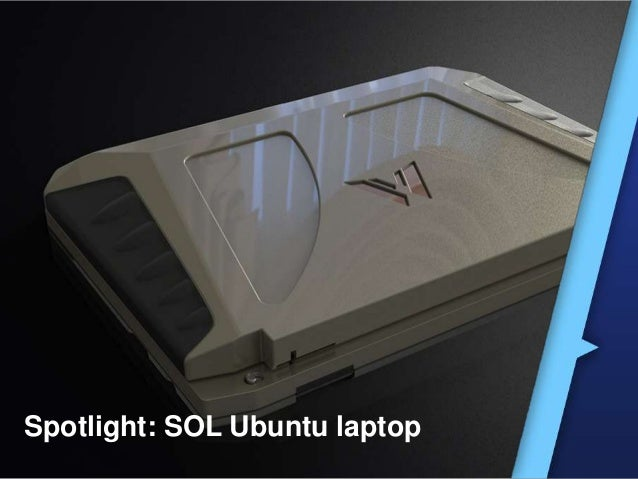 Spotlight: SOL Ubuntu laptop
