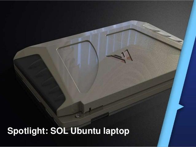 Ubuntu SOL: Laptop op Zonnepanelen