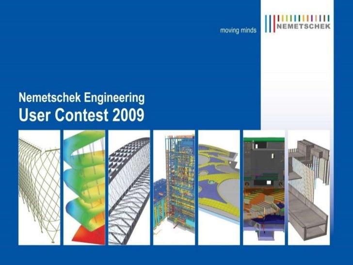 Nemetschek Engineering User Contest 2009