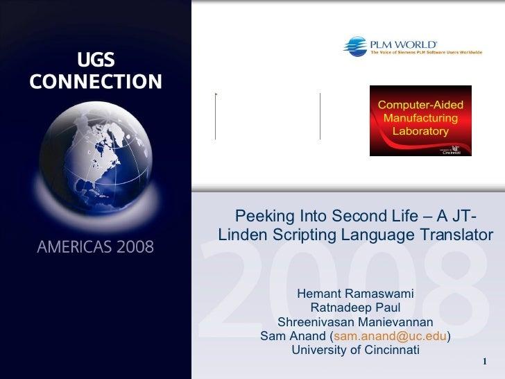 UC JT-LSL Translator
