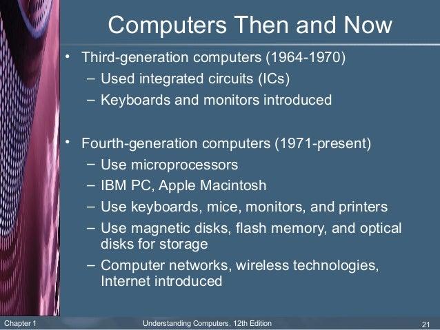 Present Generation Computers Computers 1971 Present