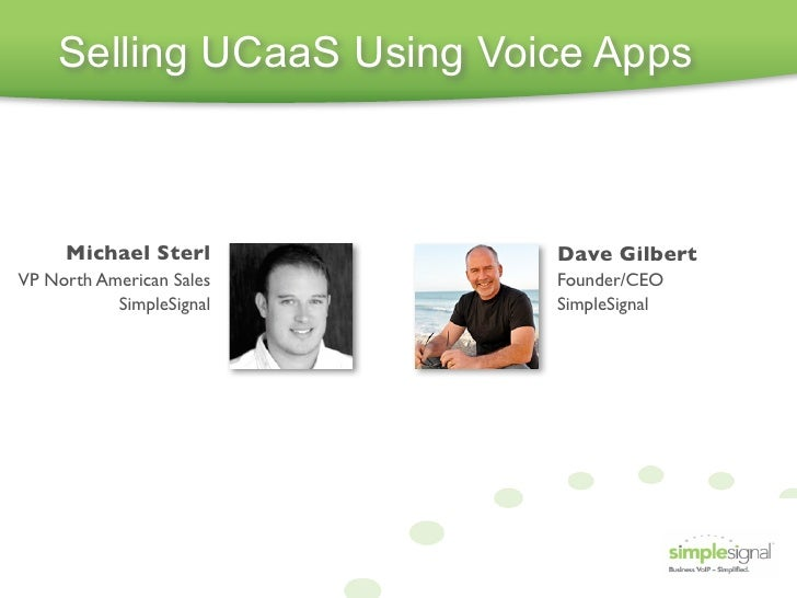 Using Voice Apps to Drive UCaaS Adoption