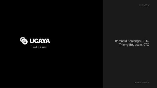 [Livecode Windows Azure] Presentation d'UCAYA