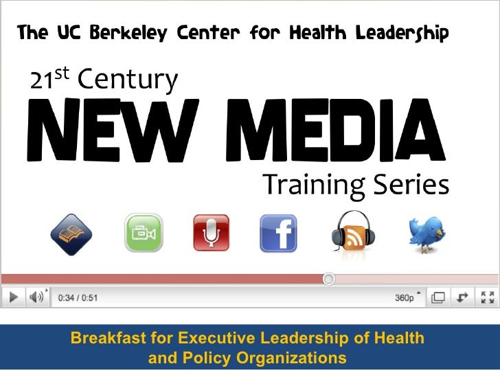 Senior Health Executives & Social Media - A Conversation
