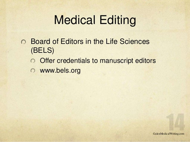 Professional English Manuscript Editing Services