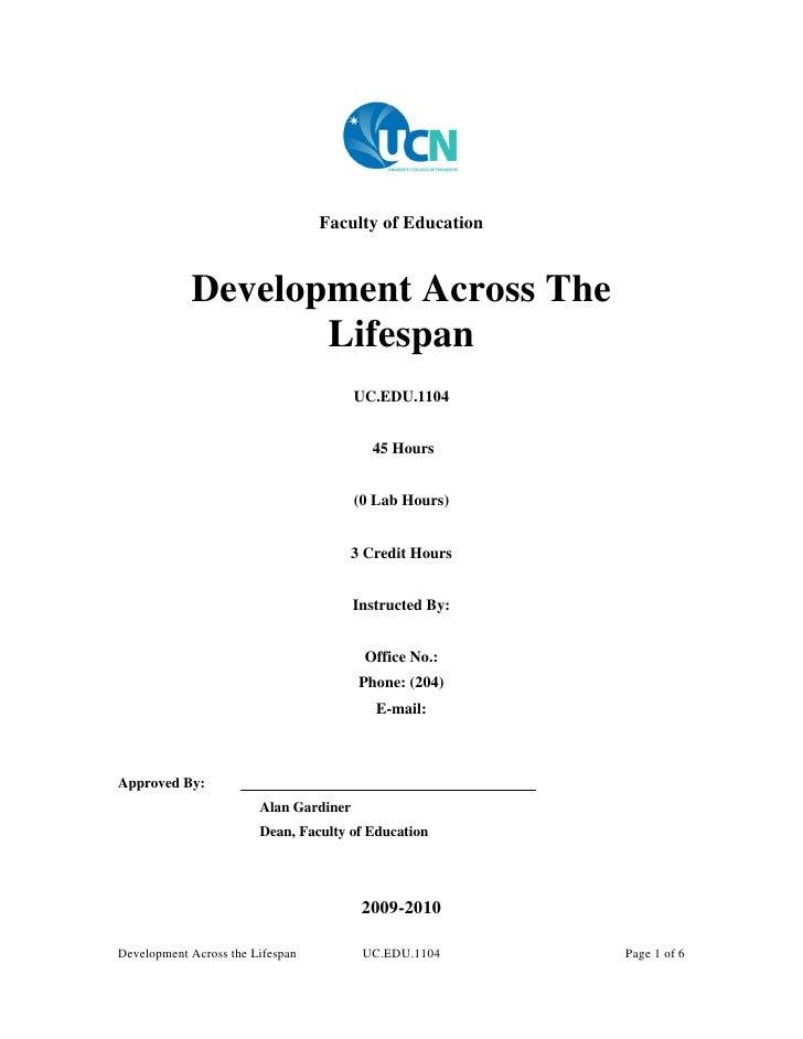 Uc edu 1104 development across the lifespan (revised)
