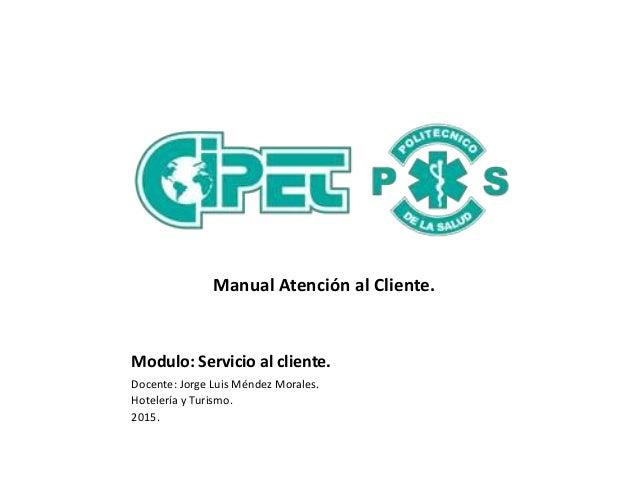 Manual atenci n al cliente for Atencion al cliente