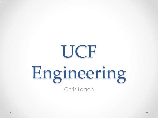 UCFEngineering   Chris Logan