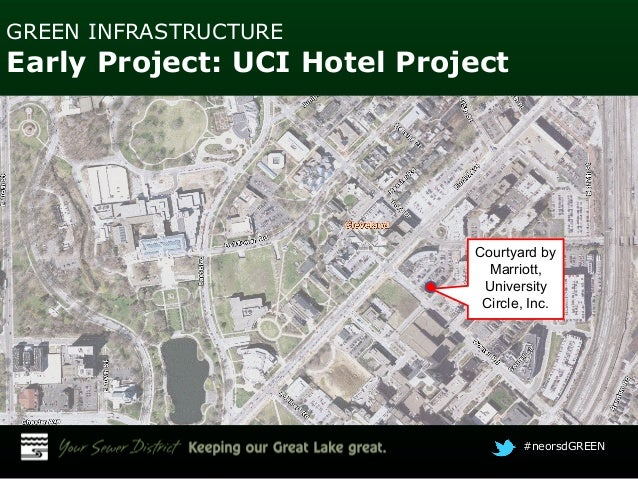 Whole lotta green: Hotel lot, roof in University Circle helps manage stormwater