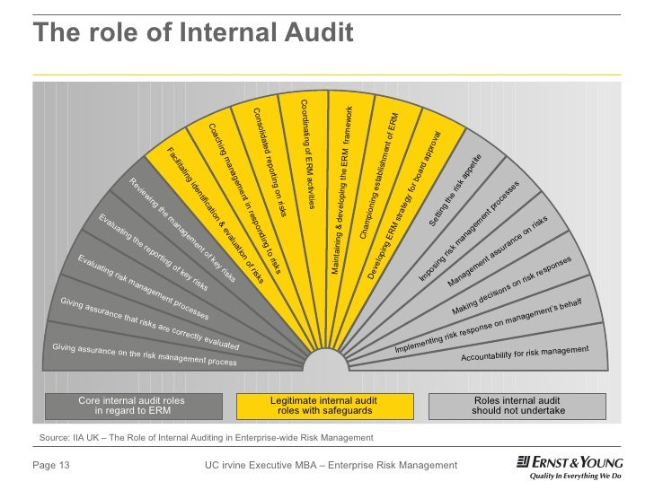 role of internal auditor in corporate