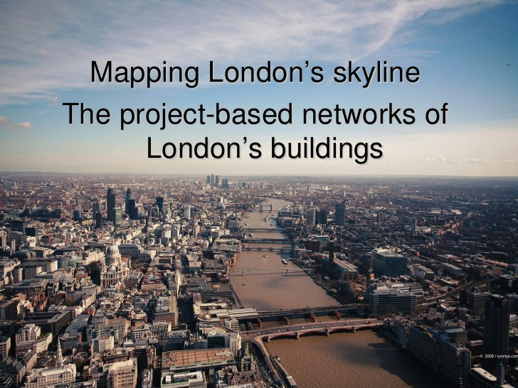 Mapping London's Skyline