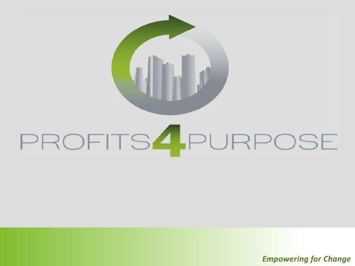 CSR and P4P Presentation
