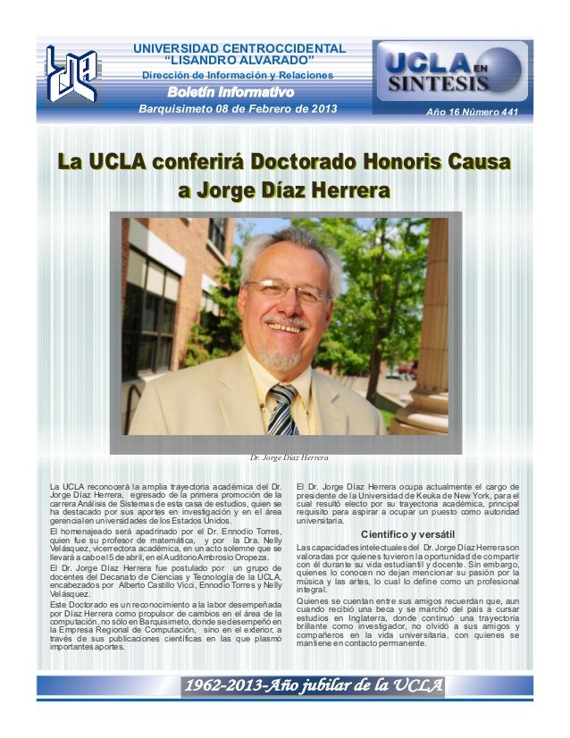 UCLA en SINTESIS 441