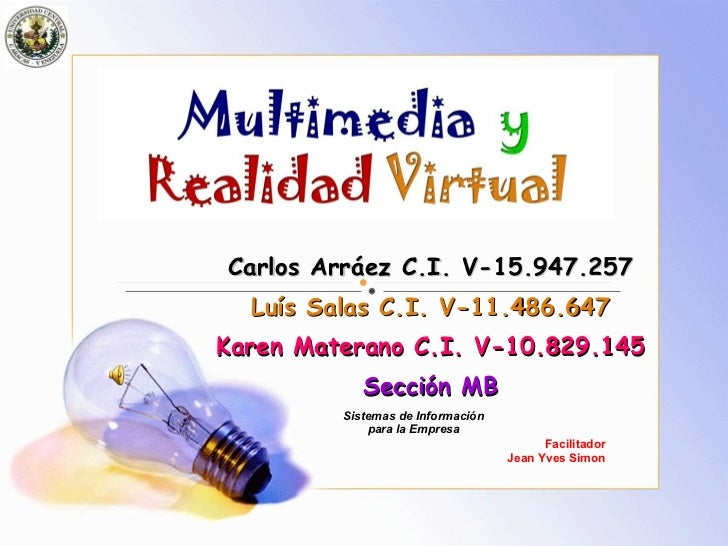 Ucv Multimedia Y Realidad Virtual 2008