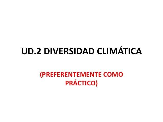 Ud. 2 diversidad climática