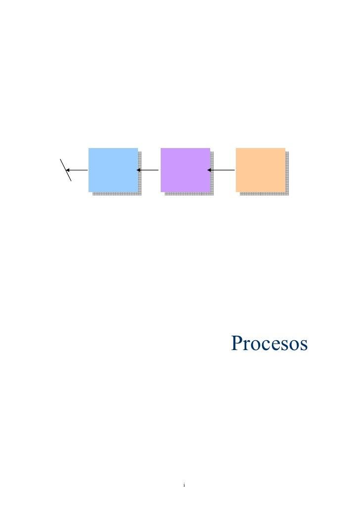 Procesos     i