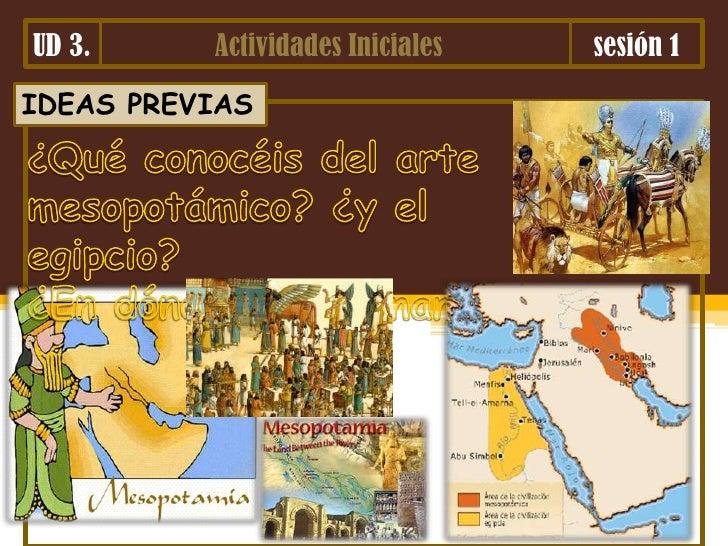 Ud 3.arte de mesopotamia y egipto
