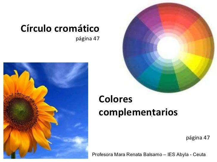 Ud3 circulo cromatico_y_colores_complementarios