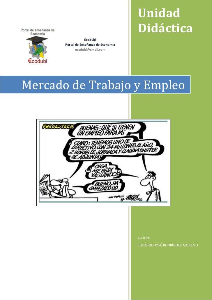 Ud 5 mercado trabajo y empleo