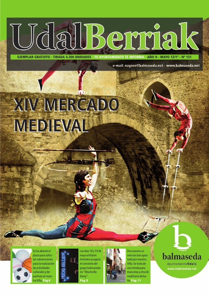 Udalberriak 151 - Mayo 2012 - Mercado Medieval Balmaseda