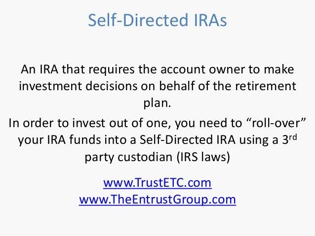 Self directed ira stock options