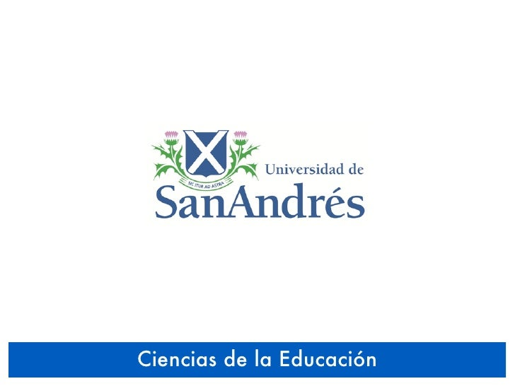 UDESA 2010 - Educación y Tecnología - Ciencias de la Educación - Taller 06