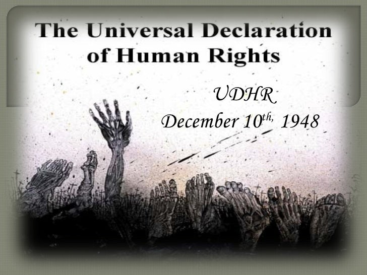 an introduction to the history of universal declaration of human rights The universal declaration of human rights (udhr) gives us a framework for developing international human rights law the human rights conventions that have come into existence since 1948 are very much concrete interpretations of the udhr.