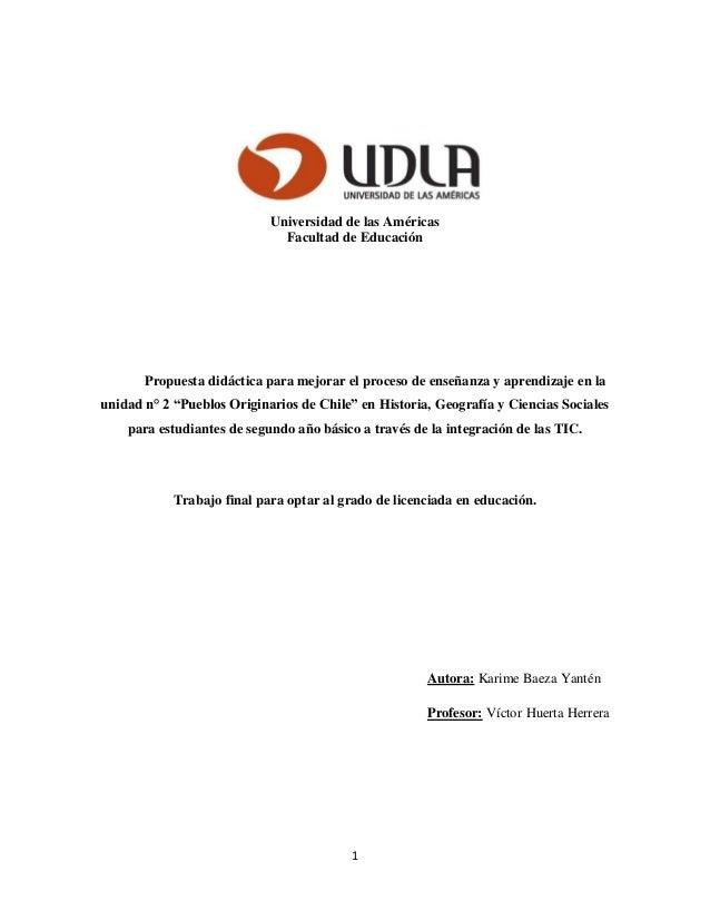 UDLA 2013 - Karime Baeza