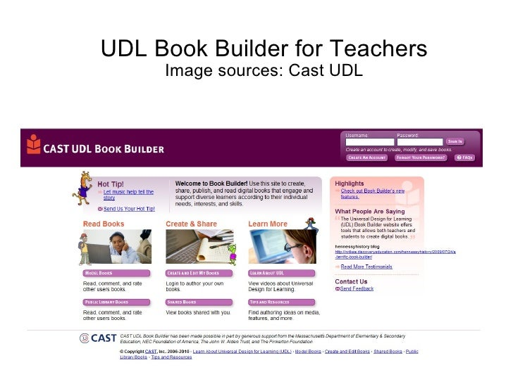 Udl book builder_for_teachers