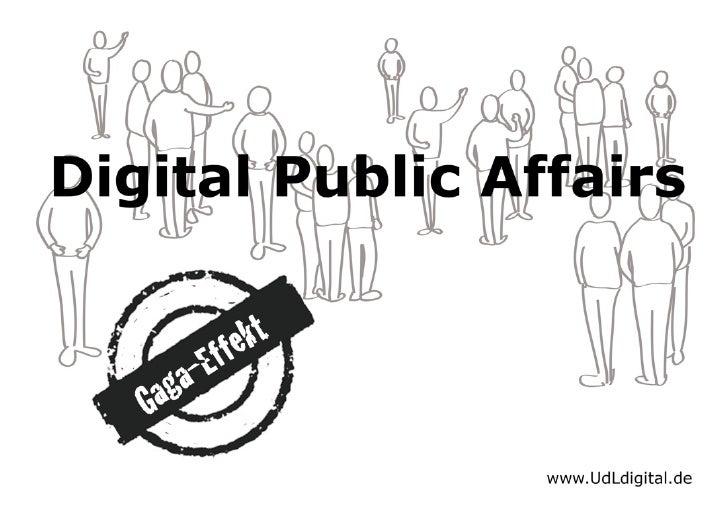 Digital Public Affairs - Kommunikationskongress 2010