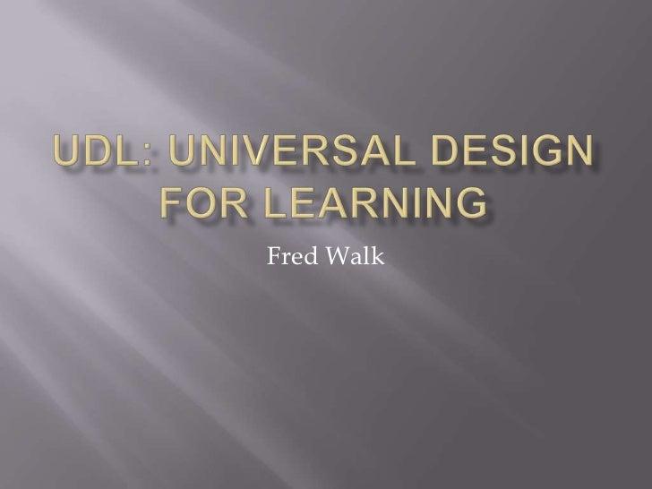 Fred Walk
