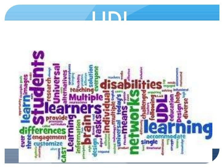 UDL Created by Sarah Williams EDUC 6714