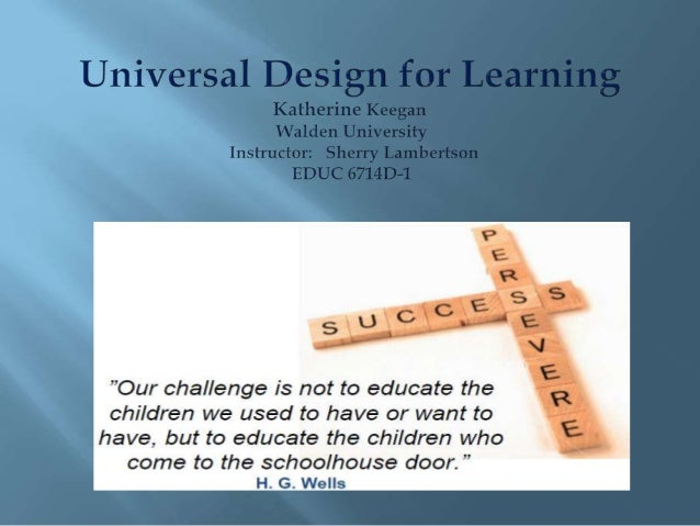 UDL presentation
