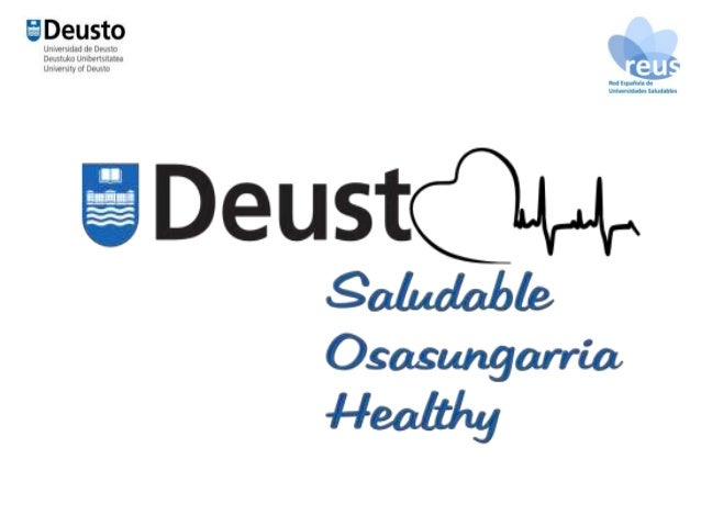 Plan Director de Salud Deusto Saludable