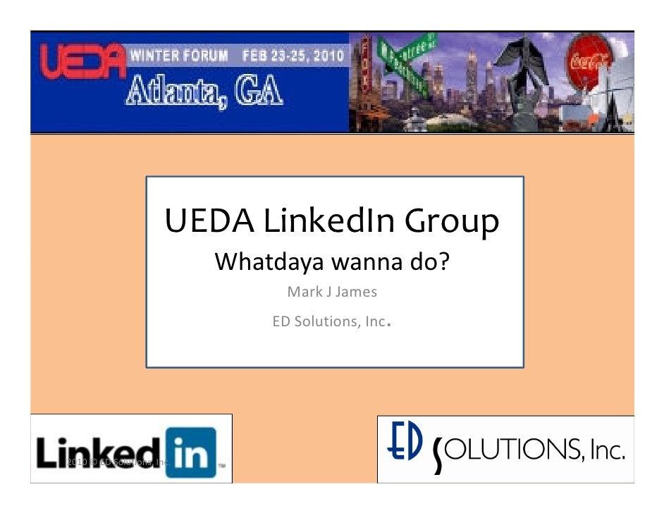 Ueda Linked In Group